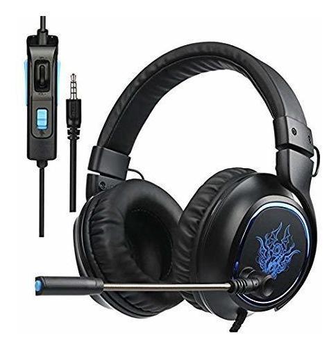 Fone / Headset Gamer P3 7.1 C/ Microfone Pc Bass