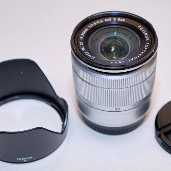 Lente Fuji Fujifilm Fujinon Xc 16-50mm F3.5-f5.6 - Otima