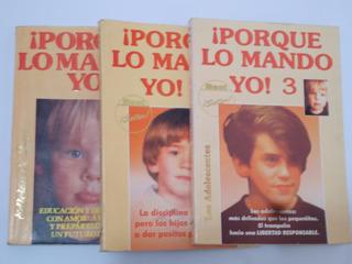 Libro ¡porque Lo Mando Yo! 1, 2 Y 3
