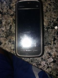Celular Nokia Modelo 5233 Funcionando Com Touch Ruim Nao Fun