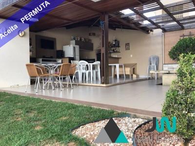 Jardim Atlântico Residencial - Venda De Casa Duplex Em Plena Abel Cabral, Nova Parnamirim, Com 3 Suítes, Em Condomínio Fechado Com Área De Lazer - Ca00084 - 32896031