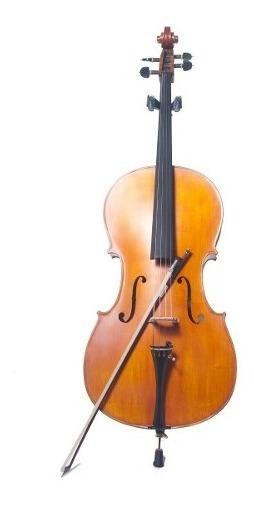 Violoncello Custom 4/4 Parquer C/funda Cod.ce900 Cuota