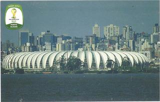 Cartão Postal Estadio Beira Rio/2014