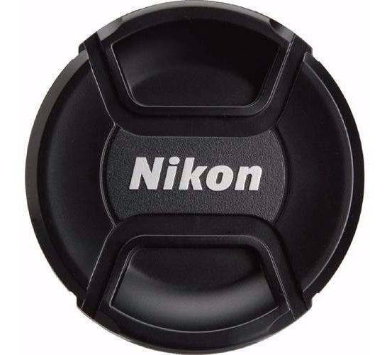 Tampa Frontal De Objetiva, Lente Diametro 52mm C/ Logo Nikon