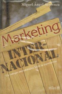 Acerenza Marketing Internacional Enfoque Hacia Exportacion