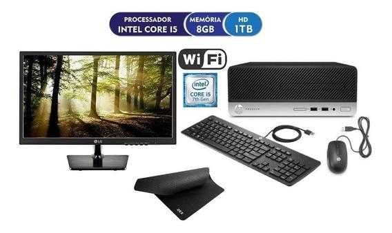 Desktop Completo Hp Prodesk I5, 8gb, 1tb, Monitor - Vitrine