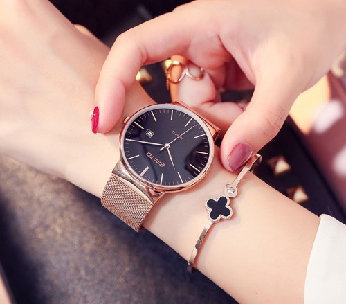 Lindo Relógio Gimto Feminino Com Caixa