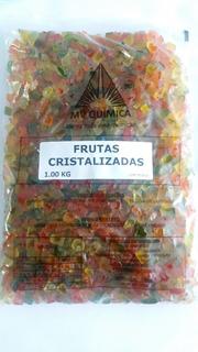 Frutas Cristalizadas - 10und X 1kg = 10kg