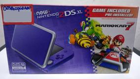 New Nintendo 2ds Xl Novo Desbloqueado 32gb + Jogos