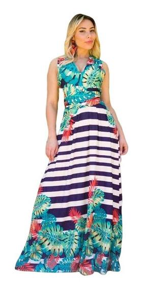 Vestidos Longos Feminino Multiuso Formas 6x1 Postagem Rápida