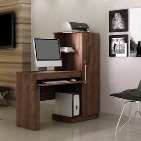 Mesa Para Computador Com Armário 1 Porta 1 Gaveta Cf