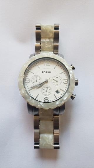 Relógio Fóssil Feminino Original Fjr1430z - Excelente Estado