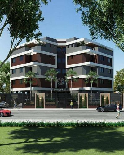 Apartamento Com 1 Dormitório À Venda, 73 M² Por R$ 250.000,00 - Edifício Rialto - Foz Do Iguaçu/pr - Ap0246