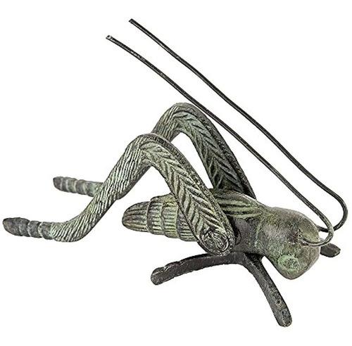 Imagen 1 de 1 de Achla Diseños Verdigris Hearth Cricket