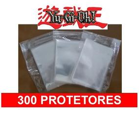 300 Protetores Sleeve Card Tamanho Yu Gi Oh Citadels Uno