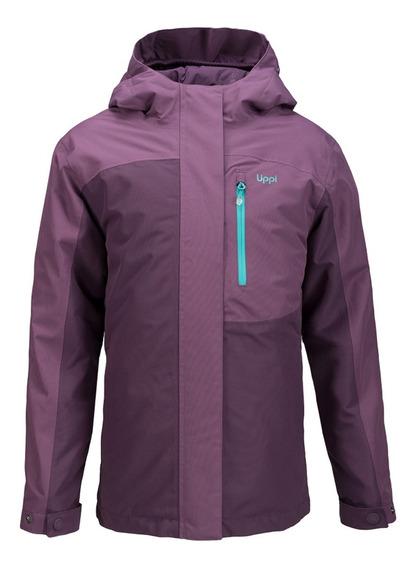Chaqueta Niña Lippi Andes Snow B-dry Jacket Uva I19