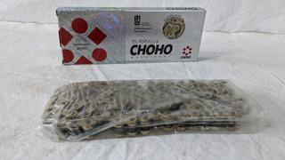 Cadena Choho Paso 428h 110l Reforzada Dorada Para 110cc