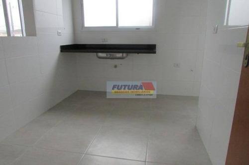 Apartamento Com 2 Dormitórios À Venda, 49 M² Por R$ 200.000,00 - Vila Margarida - São Vicente/sp - Ap2329