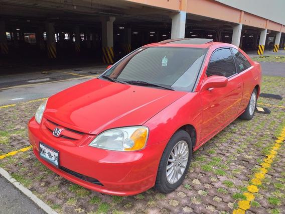 Honda Civic Coupe 2002 Factura Original