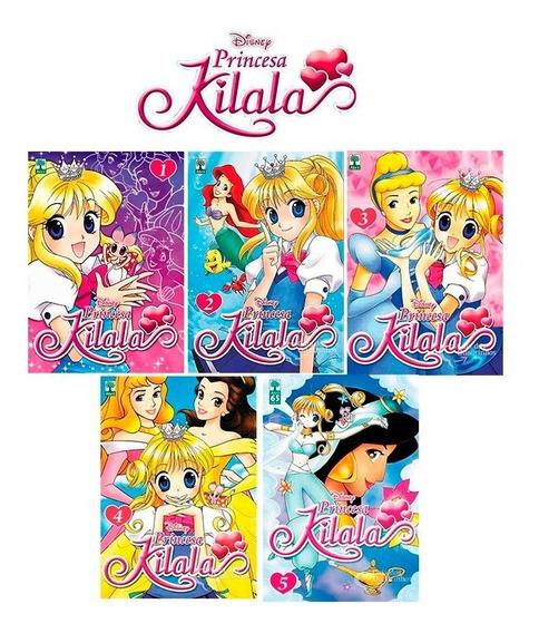 Princesa Kilala Minissérie Em 5 Volumes Disney Abril