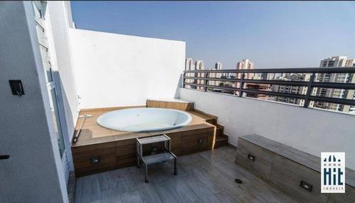 Cobertura À Venda, 105 M² Por R$ 770.000,00 - Mooca - São Paulo/sp - Co0044