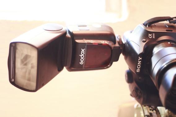 Câmera Sony Aplha 3000 E-mount Lents 18-55mm