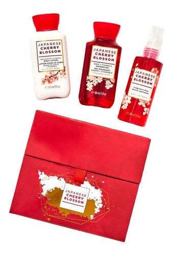 Imagen 1 de 3 de Japanese Cherry Blossom Bath & Body Works Kit De Regalo