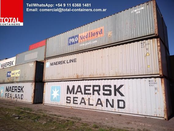 Contenedores Maritimos Usados Containers 40´st Rosario