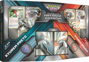 Arena De Batalha Pokémon Kyurem Preto Vs Kyurem Branco