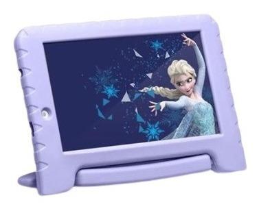 Tablet Kid Pad Plus Frozen Android 8 Capa Emborrachada Wifi