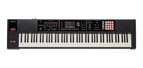 Teclado Workstation Roland Fa-08 Com 88 Teclas Ivory Feel.