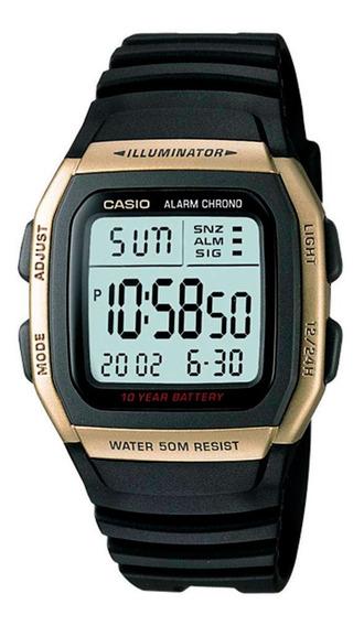 Relogio Casio Digital W 96h 9av Alarme Crono Wr.50m Original