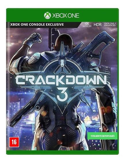 Jogo Novo Midia Fisica Crackdown 3 Lacrado Para Xbox One