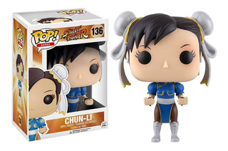 Funko Pop Street Fighter Chun-li 136 Original Nuevo