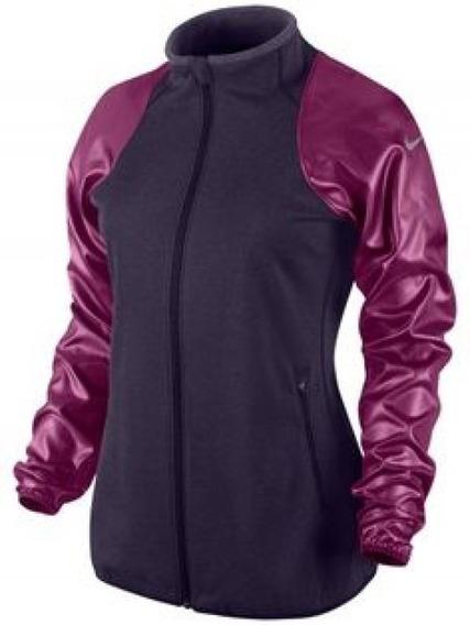 Sudadera Nike Dama Morado Therma-fit Knit Original
