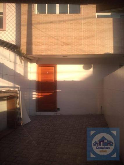 Casa Com 3 Dormitórios À Venda, 160 M² Por R$ 549.000,00 - Vila Belmiro - Santos/sp - Ca0874