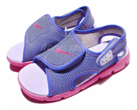 Nike Sunray Adjust 4 - Ojotas Para Bebés - Rosa