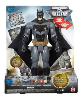Muñecos Liga Batman Flash Superman Luz Sonido Mattel Manias