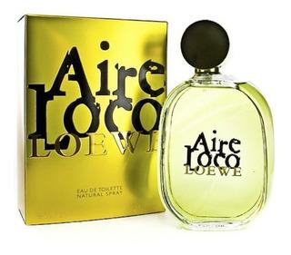 Perfume Locion Aire Loco Loewe Mujer 10 - L a $2200