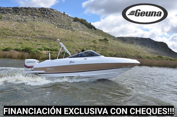 Lancha Geuna Sport F185 Gss C/mercury 115hp 4t Nueva
