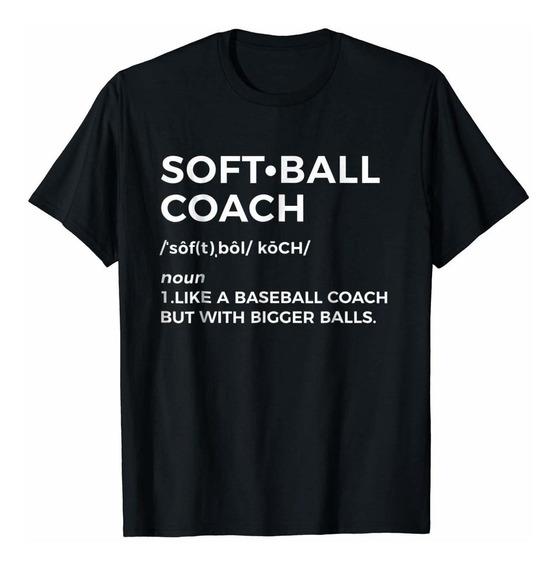 Funny Softball Coach Camiseta Regalo - Softball Coach Camise
