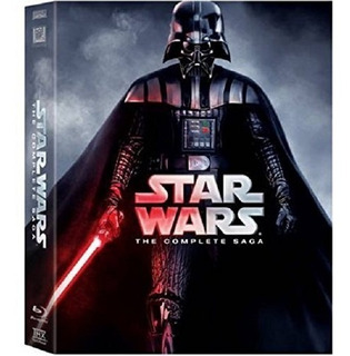 Blu-ray : Star Wars: The Complete Saga (gift Set,...