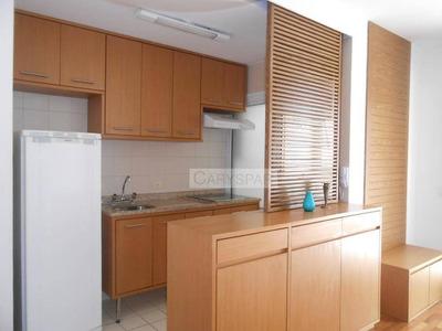 Flat Residencial Para Locação, Brooklin Novo, São Paulo. - Fl4134