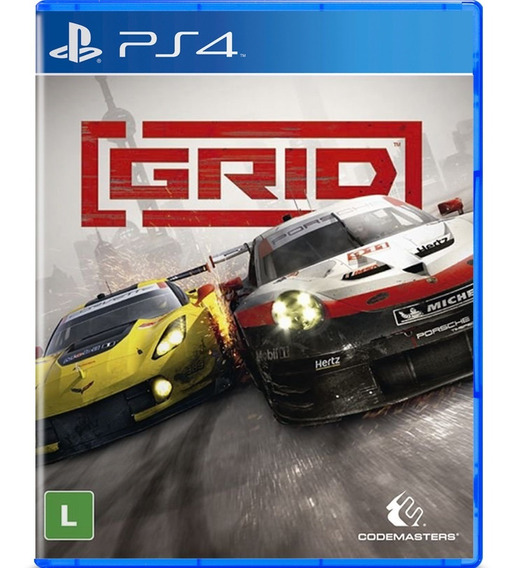 Jogo Midia Fisica Grid Codemasters Original Lacrado Para Ps4