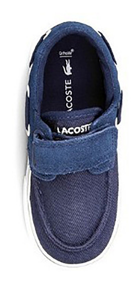 Lacoste Zapatillas Niño Abrojo Azul Keel 316 Lol