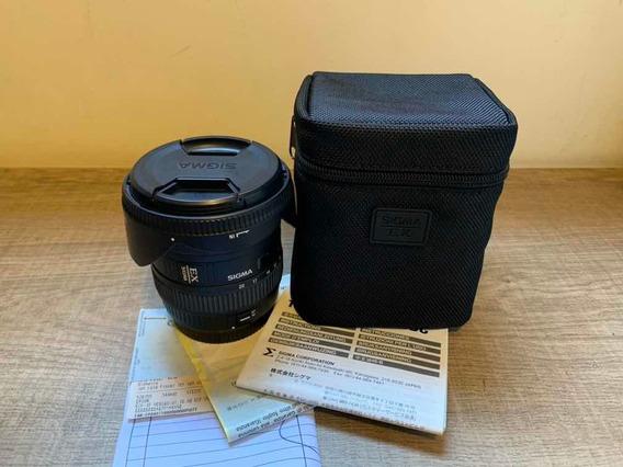 Lente Sigma Grande Angular 10-20mm F4-5.6 (canon)