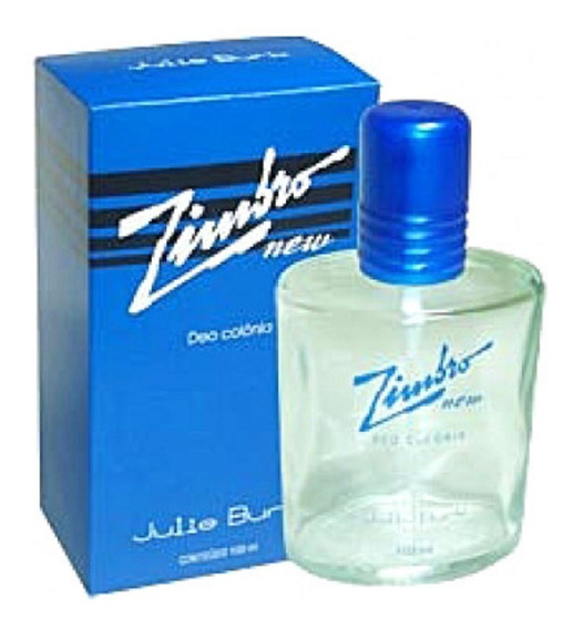 Zimbro New - Masculino - Julie Burk - 100ml -2 Unidades