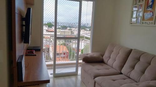 Apartamento Com 2 Dormitórios À Venda Próximo Cptm Utinga - Santo André/sp - Ap0240