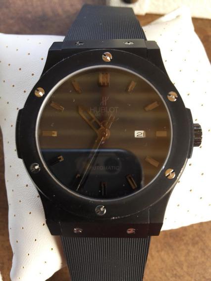 Relógio Hublot Ceramica Maquinário Automatico,