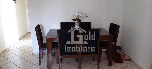 Imagem 1 de 9 de Apartamento Com 3 Dormitórios À Venda, 81 M² Por R$ 296.000 - Alto Da Boa Vista - Ribeirão Preto/sp - Ap4637